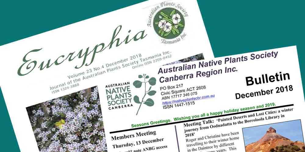 Newsletters from ANPSA – Members Only
