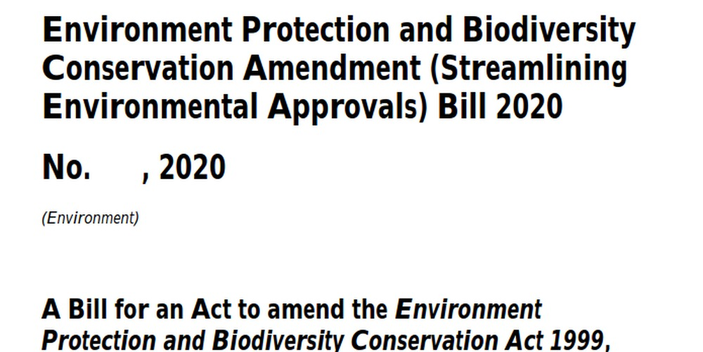 VISIT WA Senators to stop EPBC Amendment (Streamlining Environmental Approvals) Bill 2020