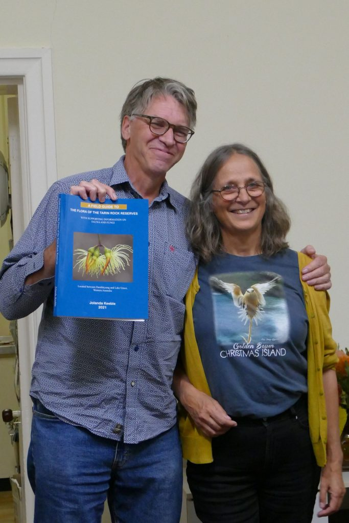 """Book launch – """"A Field Guide to the Flora of the Tarin Rock Reserves"""""""
